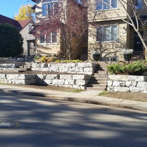 Retaining Wall White